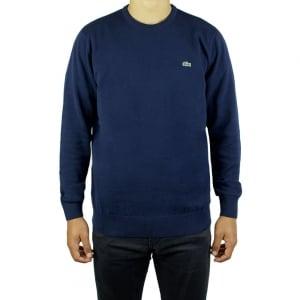 Lacoste Logo Knitwear in Navy