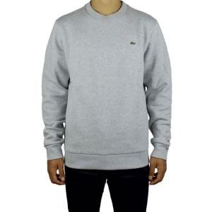 Lacoste Round Neck Sweatshirt in Grey