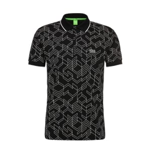Boss Green Paddy 2 Polo Shirt in Black