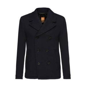 Boss Orange Bennox Coat in Dark Blue