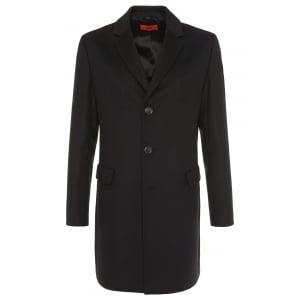 Hugo Migor2 Coat in Black