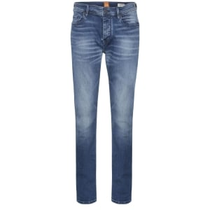 Boss Orange Orange90 Regular Leg Jeans in Blue