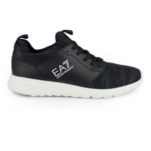 Ea7 New Racer Trainers in Camouflage