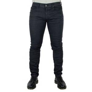 Diesel Black Gold Trouser Jeans in Black