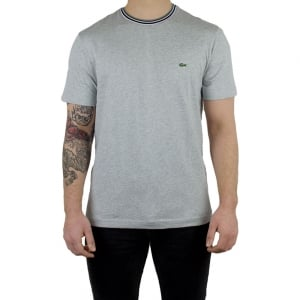 Lacoste T-shirts Trime Tee in Grey
