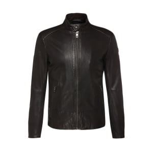 Leather Jofynn Biker In Black