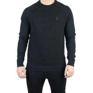 Luke Roper Guy Knitwear in Black