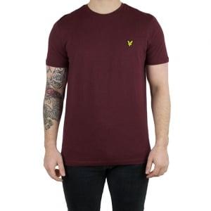 Lyle & Scott Vintage T-shirt in Claret Jug