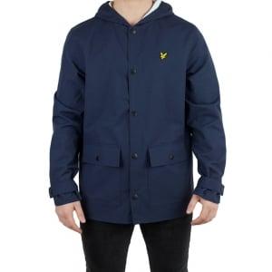 Lyle & Scott Vintage Raincoat Jacket in Navy