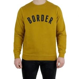 Barbour Millport Sweatshirt in Mustard