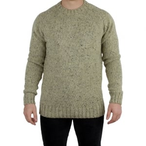 Barbour Netherby Knitwear in Cream