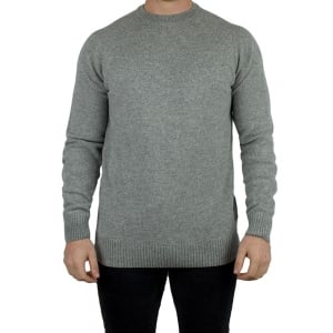 Barbour Staple Knitwear in Grey