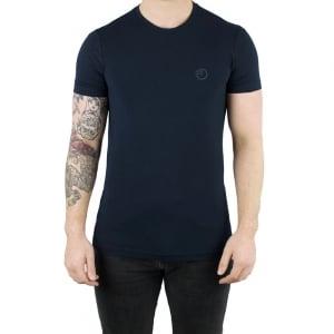 Armani Collezioni Logo Core T-Shirt in Navy