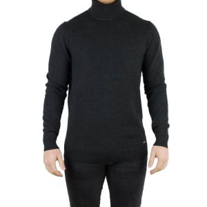 Hugo Siseal Knitwear in Charcoal