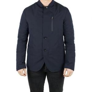 Armani Collezioni Blazer Coat in Navy