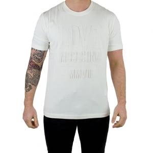 Moschino MMVII T-Shirt in Cream