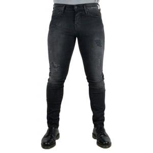 True Religion Rocco Destroy Jeans in Black