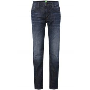 Boss Green C-Maine1 Short Leg Jeans in Dark Wash