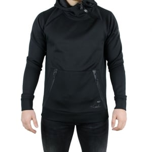 Ea7 Zipped Sweatshirt in Black