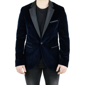 Hugo Aliks Jacket in Dark Blue