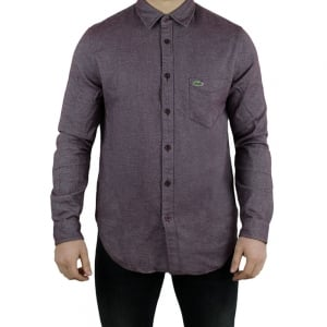 Lacoste Knit Shirt in Purple