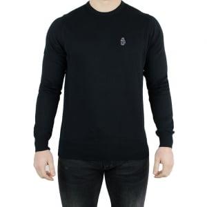Luke Roper Gerard Knitwear in Black