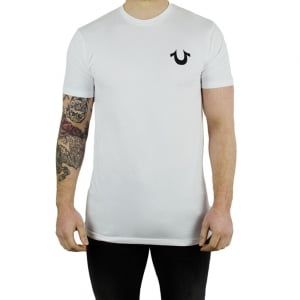 True Religion Traditional Logo T-Shirt in White