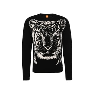 Boss Orange Kiger Knitwear in Black