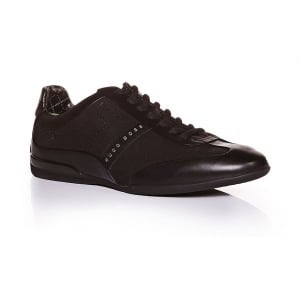 Boss Green Trainers Space Select in Black