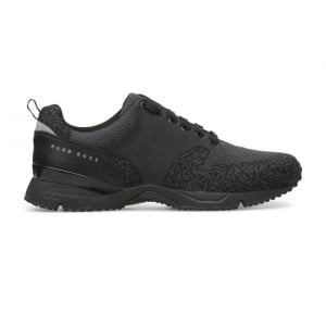 Boss Green Velocity_Runn Trainers in Black