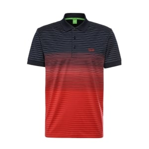 Boss Green Paddy 3 Polo Shirt in Red