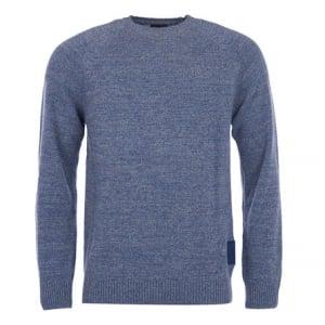 Barbour Staple Knitwear in Dark Blue