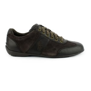 Polo Ralph Lauren Lewes Trainers in Brown