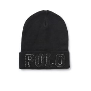 Polo Ralph Lauren Varsity Hat in Black