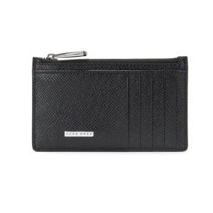 Boss Black Signature Poch Wallet in Black