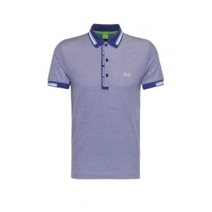 Boss Green Paule 4 Polo Shirt in Blue