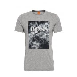 Boss Orange Theon 1 T-Shirt in Grey