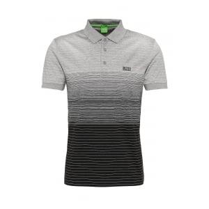 Boss Green Paddy 3 Polo Shirt in Black