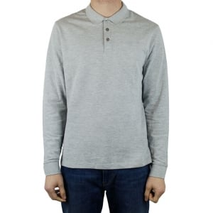 Armani Jeans Plain AJ Polo Shirt in Grey