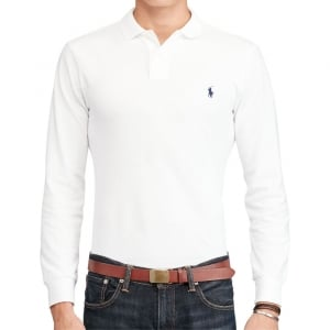 Polo Ralph Lauren Long Sleeve in White