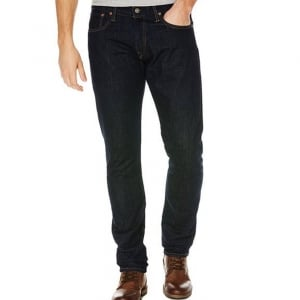 Polo Ralph Lauren Sullivan Regular Leg Jeans in Dark Wash