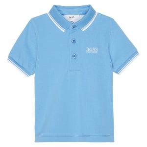 Boss Kids Core Polo Shirt in Blue