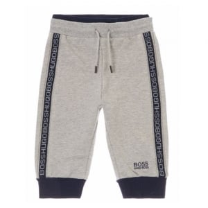 Boss Kids Jogging Bottoms in Grey