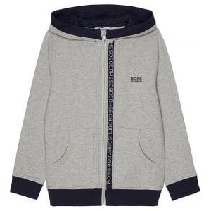 Boss Kids Boss Sweatshirt in Grey