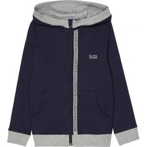 Boss Kids Boss Sweatshirt in Navy