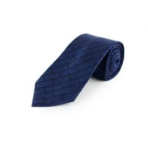 Collezioni All Logo Tie in Navy