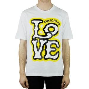 Moschino Big Love T-Shirt in White