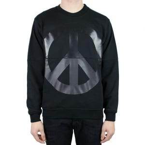Moschino Peace Sweatshirt in Black