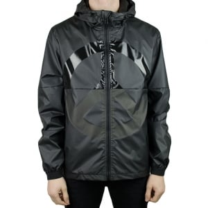 Moschino Peace Logo Jacket in Black