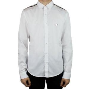 Moschino Peace Logo Shirt in White
